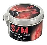 Orion S/M Kerze rot Tiegel - Niedertemperaturkerze für sie...