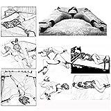 Vier Plüschhülsen für das B-D-S-M-Bett, geeignet für die...